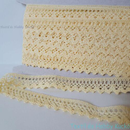 f0bfc61016 Pamut csipke szalag - Textilkuckó webáruház